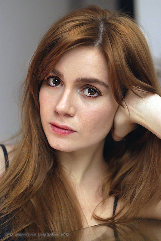 Spanish actress Beatriz Justamante